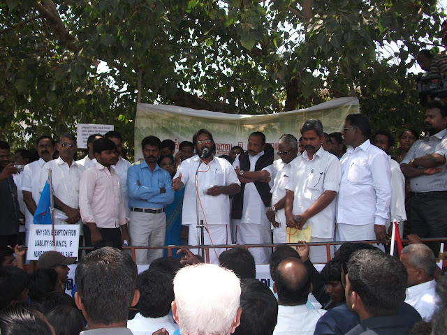 March toward kutankulam
