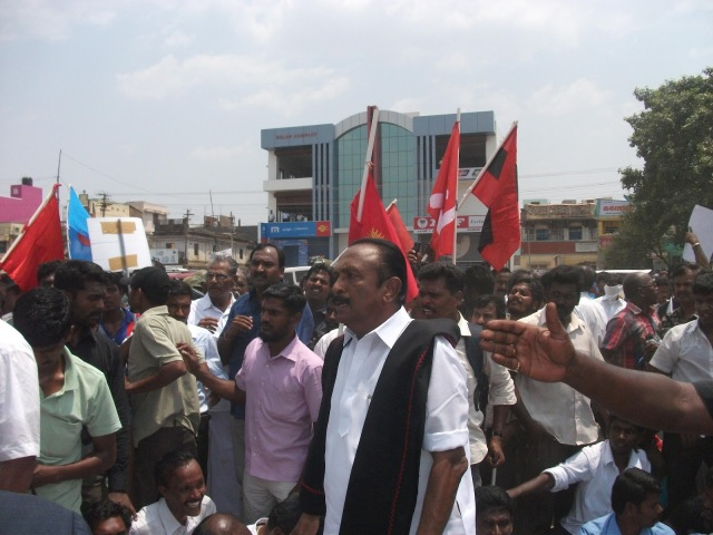 POPULAR FRONT OF INDAI SUPPORT FOR KOODANGULAM PROJECT